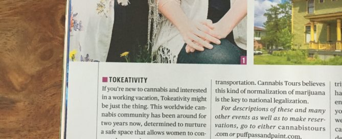 Cannabis Goes Clubbing Article