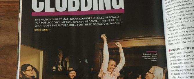Cannabis Goes Clubbing Cover