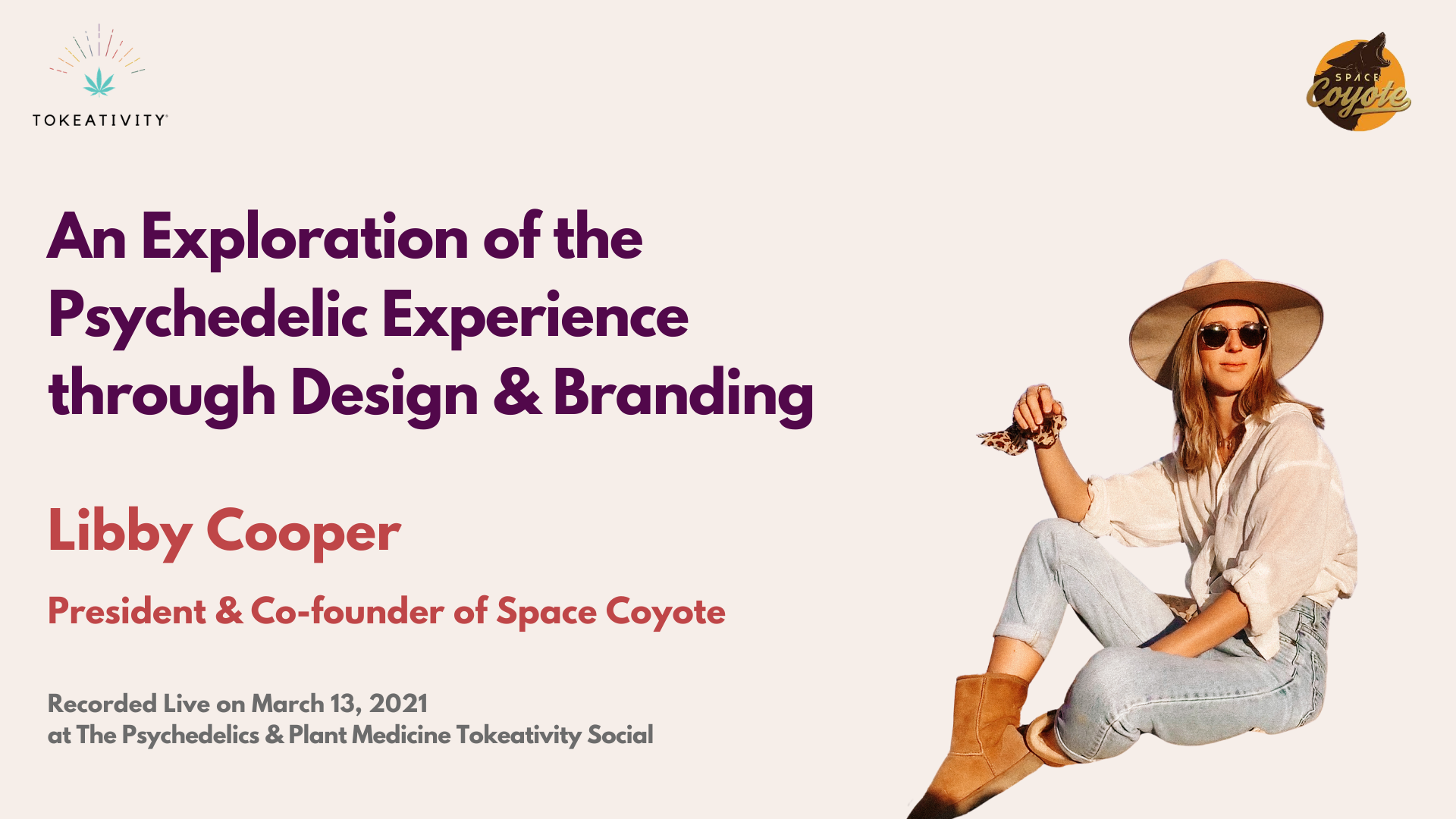 Libby Cooper President & Co-founder of Space Coyote